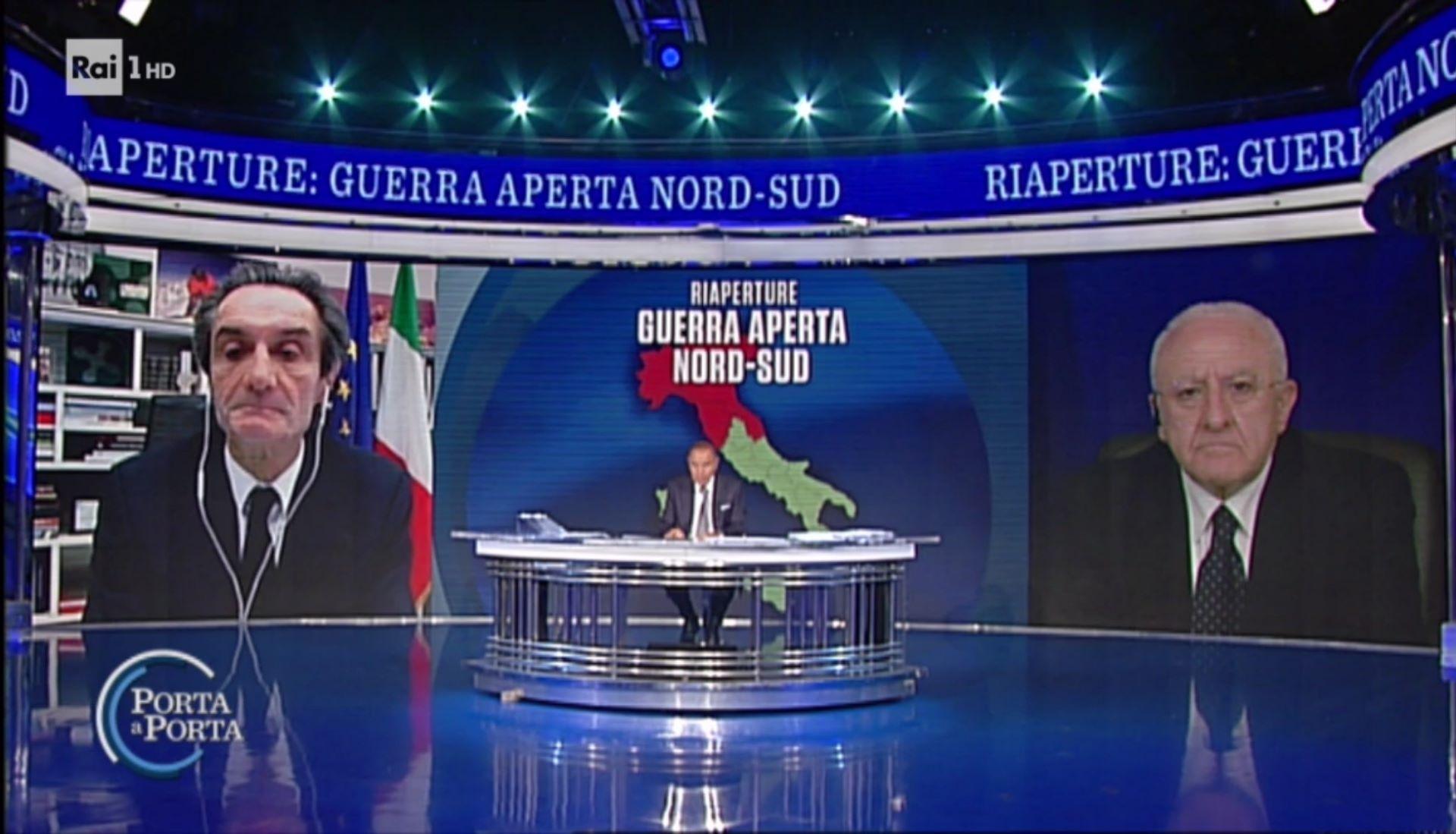 Le Cronache di una Quarantena: Vincenzo De Luca, (la) Fontana e i cavalli di Frisia