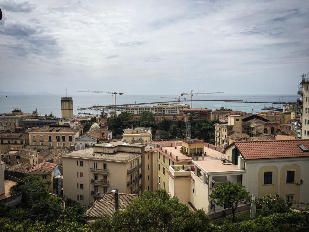 Panorama dal terrazzo del Giardino della Minerva