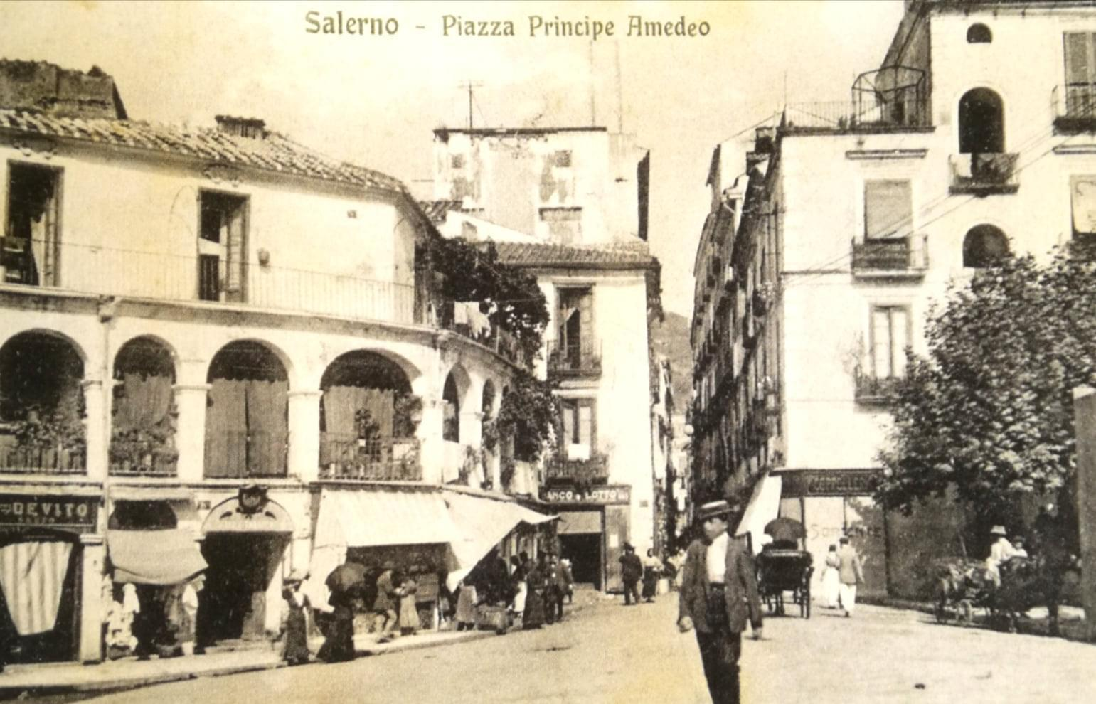 Salerno, 1916 - Piazza Principe Amedeo