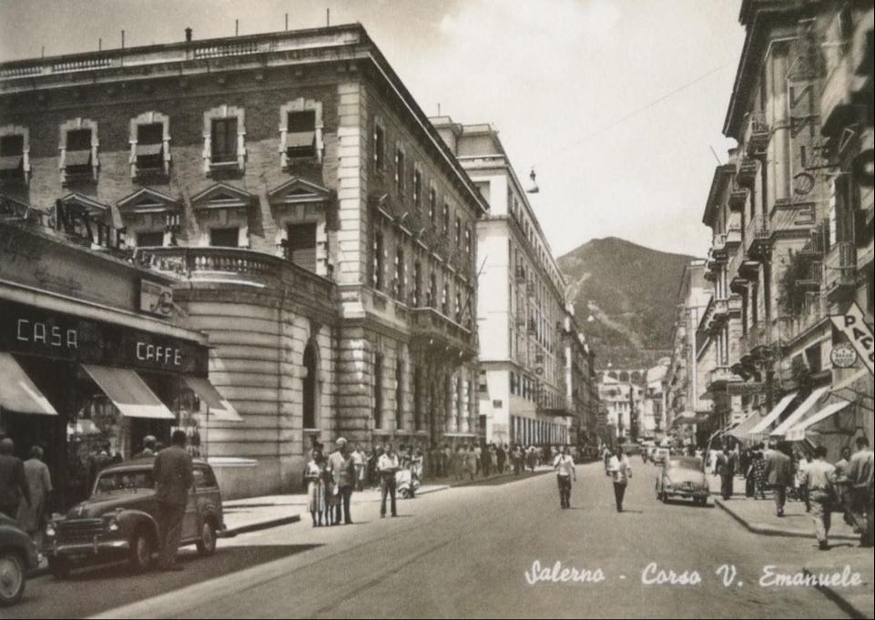 Salerno, 1957 - Corso Vittorio Emanuele
