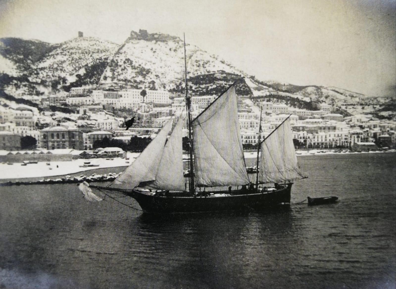 Salerno - La nevicata del 1905