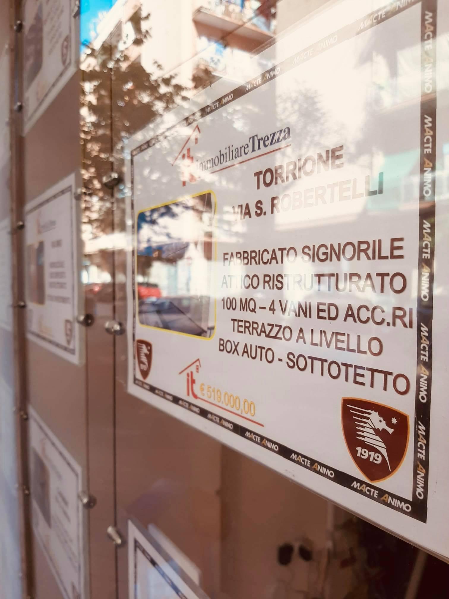 """Le Agenzie Immobiliare """"Trezza"""" omaggiano la Salernitana"""